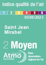 ATMO Occitanie - Indice de qualit� de l'air
